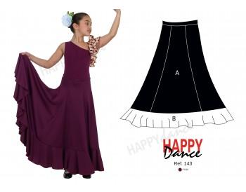 Falda flamenco 143