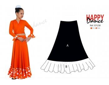 Falda flamenco EF158