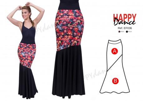 Falda flamenco EF036