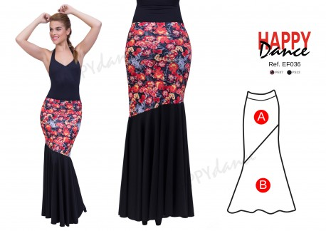 Flamenco skirt EF036