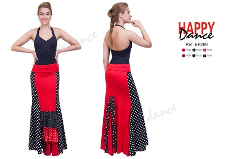 Falda flamenco EF269