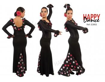 Falda flamenco E3953