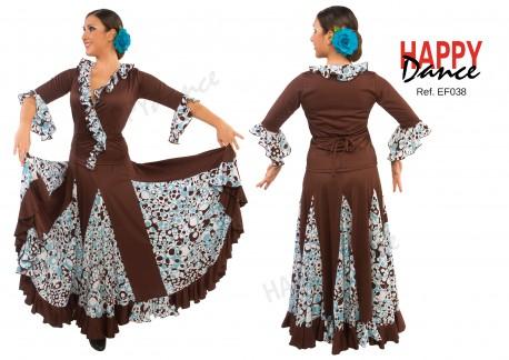 Falda flamenco EF038