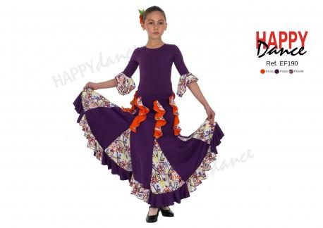 Falda flamenco EF190