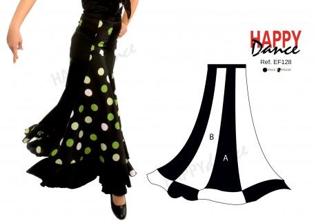 Falda flamenco EF128