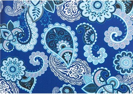 Fondo azulon dibujos azules