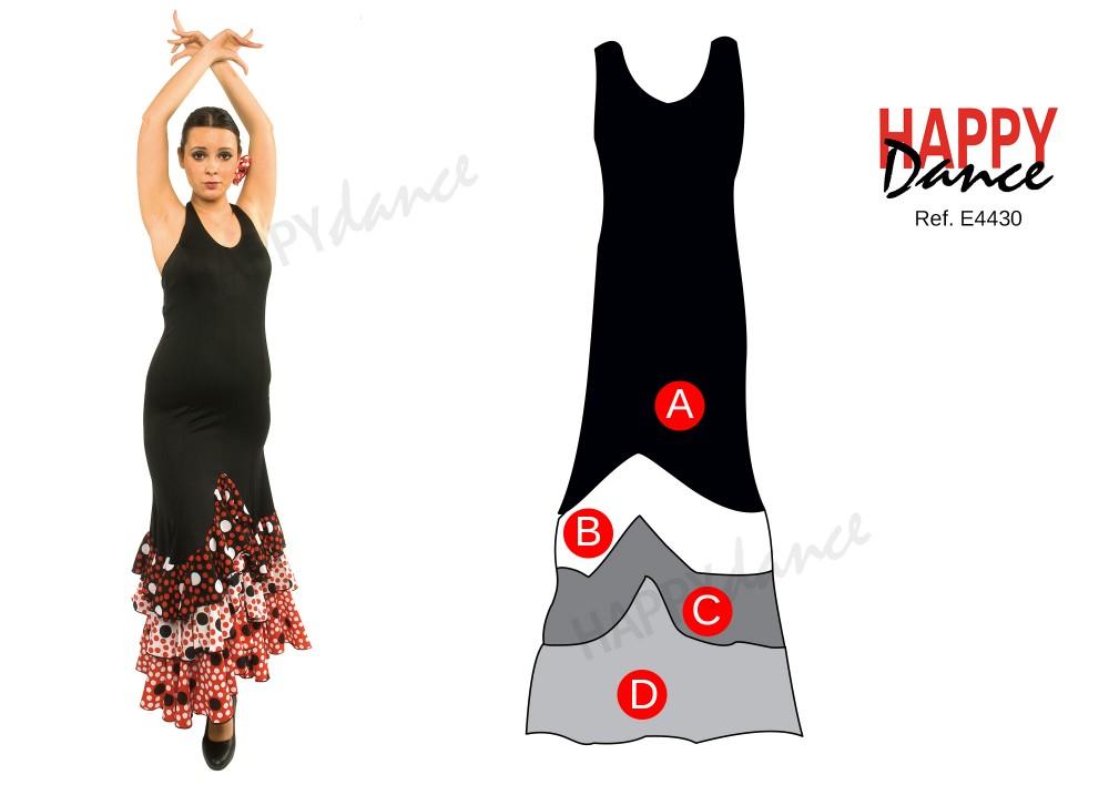 Vestido Flamenco E4430  Vestido Flamenco E4430 cd080ad6e10