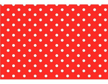 Red w/ white polka-dots