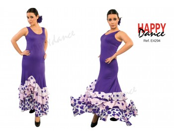 Vestido flamenco E4294