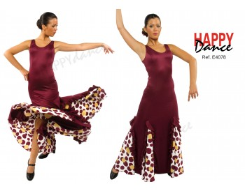Vestido flamenco E4078