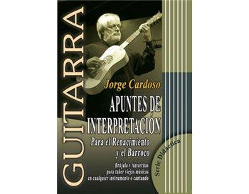 APUNTES DE INTERPRETACIÓN Para el Renacimiento y el Barroco.