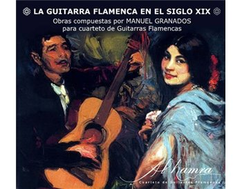 """CD """"La Guitarra Flamenca en el Siglo XIX"""" Al-Hamra"""