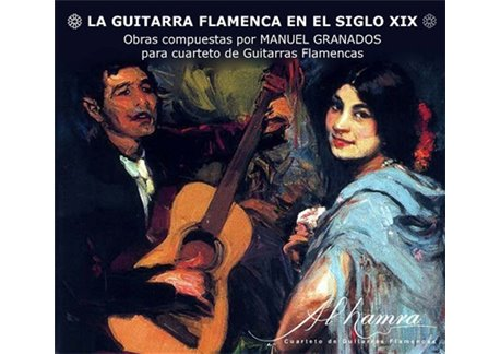 "CD ""The Flamenco Guitar in the XIX century""  Al-Hamra"