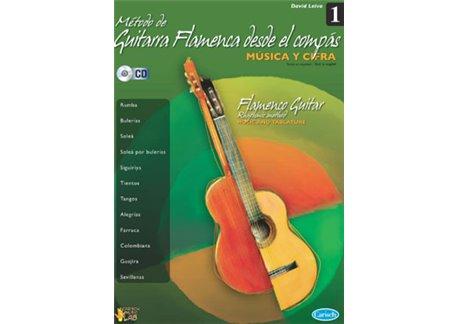 Método de guitarra flamenca desde el compás vol.1 (book + cd