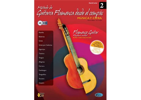 Método de guitarra flamenca desde el compás vol.2 (book + cd