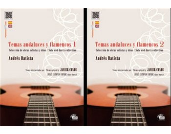 Andalusian and Flamenco themes Vol 1&2 (2book&2cd) - Andrés Batista
