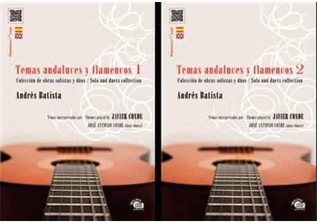 Andalusian and Flamenco themes Vol 1&2 (2book&2cd) - Andrés Batista