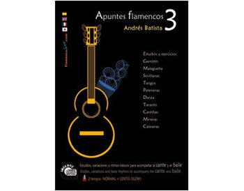 Apuntes Flamenco-3  Book+ CD