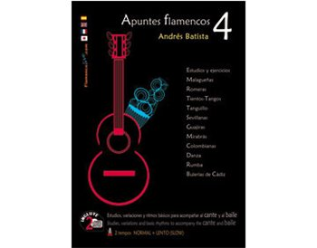 Apuntes Flamenco-4  Book+ CD