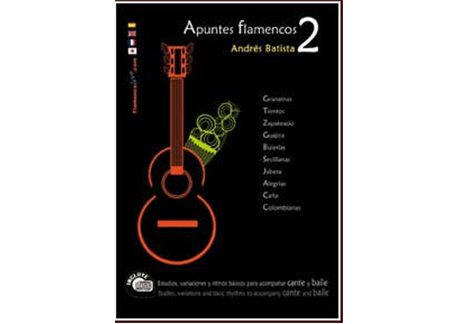 Apuntes Flamenco-2  Book+ CD