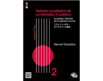 The Academic Treatise on Flamenco Guitar Vol 2 - Book + CD