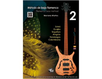 Flamenco Bass Method 2 - Book +CD