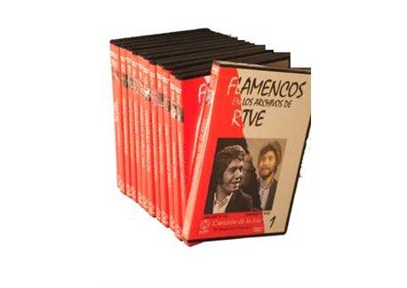 Flamencos en los archivos de RTVE. 13 DVD - PAL