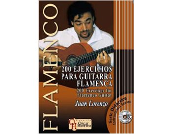 200 EJERCICIOS PARA GUITARRA FLAMENCA - Partituras + CD