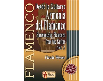 HARMONIZING FLAMENCO from the Guitar 2. Score books + audio