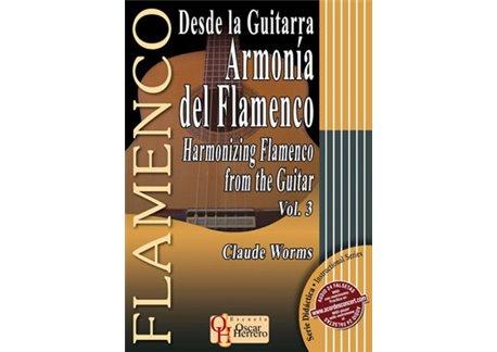 Desde la Guitarra. ARMONÍA DEL FLAMENCO 3. Libro partituras