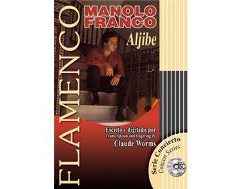 Partituras MANOLO FRANCO ALJIBE+ CD