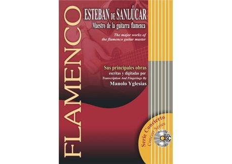 MAESTRO DE LA GUITARRA FLAMENCA SUS PRINCIPALES OBRAS.+CD.