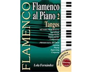 Didactic book Flamenco al piano 2. Tangos