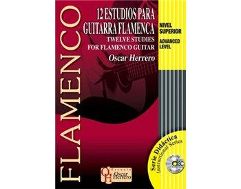 12 estudios para Guitarra Flamenca Nivel Superior