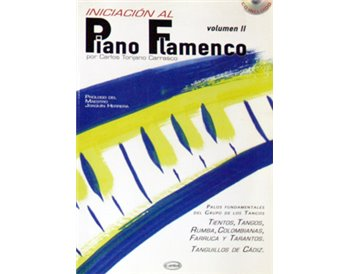 Iniciación al Piano Flamenco v. II + CD