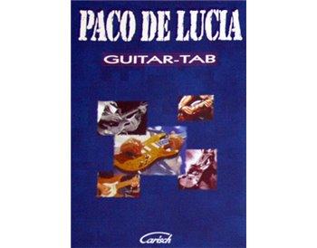 Paco de Lucía. Guitar - tab