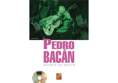 Pedro Bacán - Estudio de estilo. Libro + CD