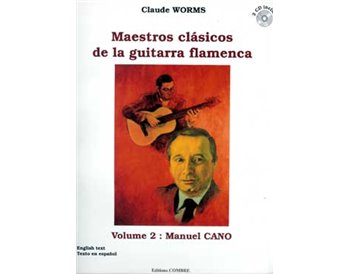 Maestros clásicos de la gui. flamenca. V.2: Manuel Cano+ 2CD