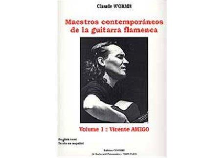 Libros de partituras de Vicente Amigo.