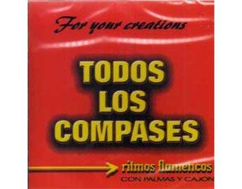TODOS LOS COMPASES. Ritmos flamencos con palmás y cajón. 2CD