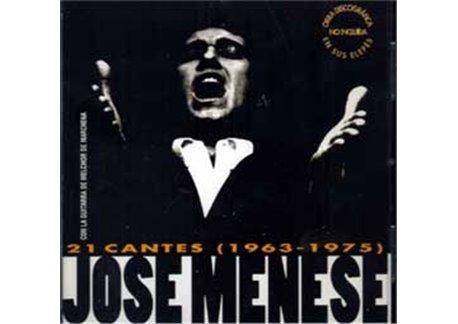 José Menese - 21 cantes (1963 -1975)