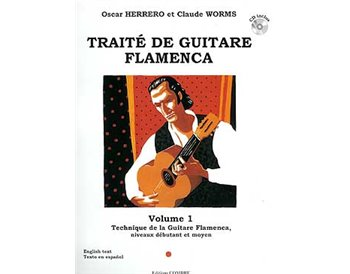 Traité de guitare flamenca. V. 1. Technique G. Flamenca. CD