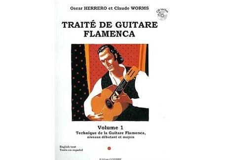 Traité de guitare flamenca. V. 1. Technique G. Flamenca. CD