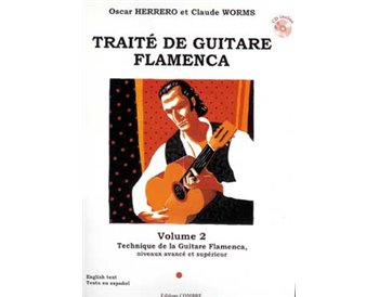Traité de guitare flamenca. V. 2. Technique G. Flamenca + CD