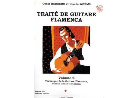 Traité de guitare flamenca. V. 2. Technique G. Flamenca + CD