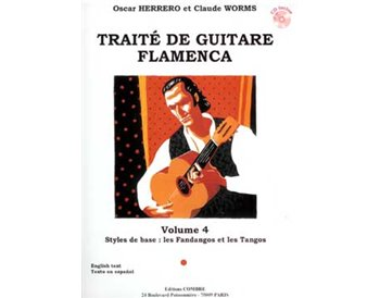 Traité de guitare flamenca. V. 4. + CD