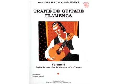 Traité de guitare flamenca. V. 4. + CD
