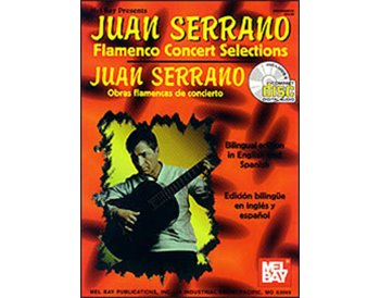 Juan Serrano Flamenco concert selection + Libro + CD