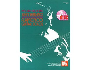 Flamenco guitar solos  - Juan Serrano. Libro + CD