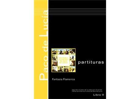 Fantasía Flamenca de Paco de Lucía - Partituras